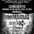 LOS DE MARRAS + REBELDÍA Viernes 18 de mayo . 22:30 . Sala Stereo (Murcia) Entrada anticipada: 6€ + gastos de distribución / Taquilla: 8€ Venta anticipada en Discos Tráfico, […]