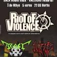 RIOT OF VIOLENCE + NO FATE + BEAST – THE WORKING CLASS DAY @AUDIOROCK Martes, 1 de mayo de 2012 Sala AudioRock 22:00 – 1:30h THE WORKING CLASS DAY […]