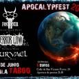 Fostioner + Terror Law + Survael Sábado, 2 de junio de 2012 21:30 Bien venidos a todos a lo que será el Apocallypfest 2012, un festival Brutal y Sangriento […]