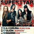 Selección de fotos realizadas en el concierto deHardcore Superstar + Katana celebrado en la sala Live!! de Madrid el día 18/05/12 http://www.flickr.com/photos/robertofierro/sets/72157629800650218/