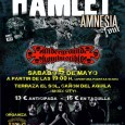 Este próximo Sábado 5 de Mayo HAMLET estarán presentando su décimo disco AMNESIA en Las Palmas de Gran Canaria.