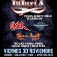 3rd Generation Festival 2012 Friday 30 November 2012 at 18:15 Sala Rock Kitchen Calle de Fundadores, 7, 28028 Madrid, España Entradas 3rd GENERATION FESTIVAL 2012 LUJURIA, OKER, REGRESION y PHOENIX RISING Dia: 30 de […]