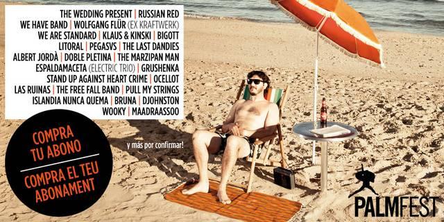 Ya se conoce la mayoría del cartel del Palmfest 2012