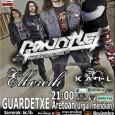 GAUNTLET + Kail + Elbereth – Donosti @ Guardetxe SABADO 17 NOVIEMBRE Sábado, 17 de noviembre de 2012 21:00 – 0:30 ¡STUBBURNED ALIVE TOUR en DONOSTI! Concierto recomendado por […]