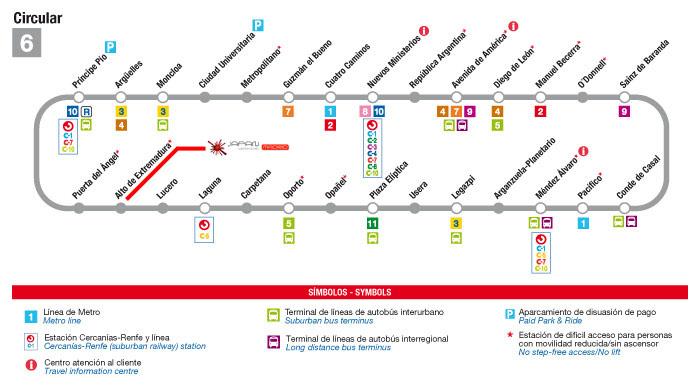Opiniones de Línea 6 (Metro de Madrid)
