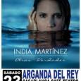 Selección de fotos realizadas en el concierto deIndia Martínez celebrado en el Cafe Teatro Casablanca de Arganda del Rey el día 23/02/13 http://www.flickr.com/photos/robertofierro/sets/72157632838488515/