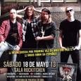 ECLIPSE SÁBADO 18 DE MAYO DE 2013 SALA ROCKITCHEN (Madrid) Apertura Puertas: 20:00 h. – C/. Fundadores, 7 – 28028 Madrid Anticipada: 18 € (+ gastos de distribución) Taquilla: 24 […]