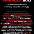 Viña Rock 2013: Pennywise, Sepultura, Soziedad Alkoholika, Lendakaris Muertos, Fermín Muguruza Kontrakantxa y muchos más completan el cartel ENTRADAS http://www.ticketea.com/festival-vina-rock-2013-entradas-abono-cartel REDES SOCIALES http://open.spotify.com/user/116089594/playlist/7rT0e4vvH7hHJnFLULVN8m https://www.tuenti.com/?m=login https://twitter.com/VinaRockFestival https://www.facebook.com/vinarockfestival http://www.youtube.com/watch?v=YVdZpX27M_o&feature=youtu.be