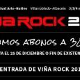 Viña Rock 2013: Últimos días para adquirir entradas a 30 euros ENTRADAS http://www.ticketea.com/festival-vina-rock-2013-entradas-abono-cartel REDES SOCIALES http://open.spotify.com/user/116089594/playlist/7rT0e4vvH7hHJnFLULVN8m https://www.tuenti.com/?m=login https://twitter.com/VinaRockFestival https://www.facebook.com/vinarockfestival http://www.youtube.com/watch?v=YVdZpX27M_o&feature=youtu.be