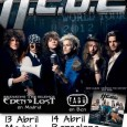 El próximo sábado día 13 de abrilEDEN LOSTestarán descargando en la Sala Ramdall de Madrid (c/ Ferraz 38) como teloneros del grupo sueco de hard rock,H.E.A.T. Asimismo, la banda […]