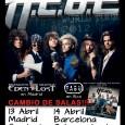 H.E.A.T – CAMBIO DE SALAS Debido a la gran demanda de entradas los conciertos de H.E.A.T cambian de sala. El concierto de Madrid se traslada a la sala Copérnico. (Fernández […]