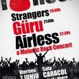 AIRLESS + GÜRU + STRANGERS Viernes 7 de Junio en la Sala Caracol (Madrid) Apertura de puertas: 19:30 h Anticipada: 10 € Taquilla: 14 € Entradas anticipadas a la […]