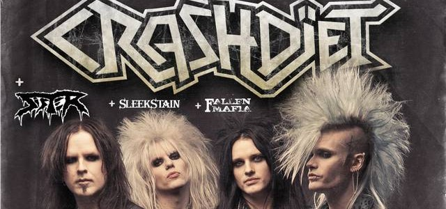 Los nuevos reyes del sleaze-glam regresan a Madrid Crashdiet + Sister + Sleekstain + Fallen Mafia &#8211; 21 de mayo, Sala Caracol, Madrid. 19:00 h. Apertura de puertas 19:30 h....