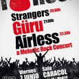 Noche melodica para el próximo viernes 7 de junio en la Sala Caracol con la participacion de las bandas Strangers,Güru y Airless. A los primeros los pudimos ver hace […]