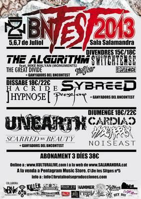 Bin producciones conciertos y festivales de este fin de for Eventos en barcelona este fin de semana