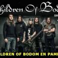 Children Of Bodom en Pamplona Más información en www.rocknrock.com y en www.cobhc.com