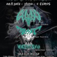 Gloom + Beast + Mortem Tirana Gloom (Death/Black):https://www.facebook.com/gloomdeathmetal?fref=ts Beast (Thrash Metal):https://www.facebook.com/Beast.thrash Mortem Tirana (Thrash/Death):https://www.facebook.com/mortemtirana?ref=ts&fref=ts Sala Rock & Pop. Calle de Albasanz, 79 Metro: Torre Arias – Suanzes Precio: 5 euros […]