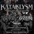 Kataklysm , Krisiun & Fleshgod apocalypse 23/01/14 (Madrid) Babylon productions tiene el placer de ofreceros una nueva gira,con 3 potentes bandas para vuestro disfrute Nuestros puntos de venta seran los […]