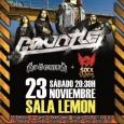 GAUNTLET + Apocrifa + Sixx Ways – Madrid @ Sala Lemon Club – 23.11.2013 DesdeRyd_play _music,SONIDO EXTREMOyPegada Brutal, tenemos el placer de presentar a GAUNTLET. http://www.youtube.com/watch?v=FyLq_g1TDLE(Video Clip «Slave», dirigido […]