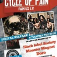 CYCLE OF PAIN Release date NOV. the 27th Noveber the 27th will see Cycle of Pain unleashing their brand of groovy, funk influenced heavy rock. Also a video featuring Don […]