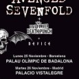 Selección de fotos realizadas en el concierto de Avenged Sevenfold + Five Finger Death Punch + Avatar celebrado en el Palacio Vistalegre de Madrid el día 26/11/13 http://www.flickr.com/photos/robertofierro/sets/72157638127822023/ Gira #Hail […]