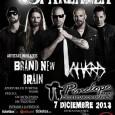 El próximo día 7 de Diciembre (Sábado)en la Sala Penelope de Madrid,gracias a la gente de LESTRATO y con el apoyo de INTERTOUR,los suecos SPARZANZA estarán descargando su metal […]