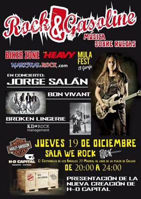 Cronica rock gasoline jorge sal n bon vivant broken for Sala we rock