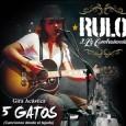 Rulo y la Contrabanda presenta su Gira Acústica 5 Gatos. Canciones desde el tejado