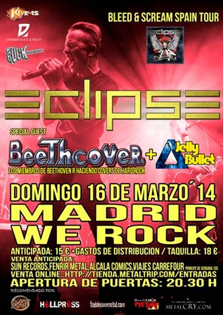 Eclipse Tour Madrid