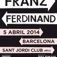 ¡ÚLTIMAS ENTRADAS A LA VENTA! FRANZ FERDINANDestán a punto de agotar las entradas para su próximo concierto del 5 de abril en el Sant Jordi Club de Barcelona, concierto en […]