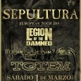 (CRÓNICA) Sepultura+Legion of the damned+Flotsam and Jetsam+ Mortillery Sin disfraces tras los que escudarse a pesar de caer en sábado carnavalero, llegarían hasta Pamplona los hijos pródigos del Metal carioca. […]