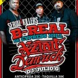 SERIAL KILLERS TOUR B-Real (Cypress Hill) + Xzibit + Demrick  MARTES 1 DE  ABRIL 20:30h SALA PENÉLOPE MADRID Entrada anticipada 25€ taquilla 30€ Entradas a la venta en: Ticketea.com, ticketbell.com, […]