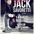 Jack Savoretti + Aly Rae – Sala Boite Live – Madrid – 14/05/14 La velada del pasado 14 de Mayo en la Sala Boite Live se presentaba emocionante, con un […]