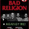 Selección de fotos realizadas en el concierto de Bad Religion + Against Me  celebrado en la Sala La Riviera de Madrid el día 17/06/14 https://www.flickr.com/photos/robertofierro/sets/72157645226670681/