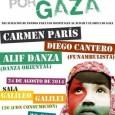 MADRID. CONCIERTO SOLIDARIO POR GAZA en la sala Galileo Galilei, actuaran: Carmen Paris Diego Cantero Alif Danza (c/Galileo 100, metro Islas Filipinas o Canal), domingo 24 a las 20:30 hrs.. […]