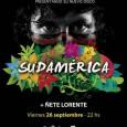 SONIDO INTERNACIONAL «SUDAMÉRICA» En directo Presentando su nuevo disco «Sudamérica» + Ñete Lorenzo Viernes 26 de Septiembre en La Cochera Cabaret (Málaga) Entrada Anticipada en la Web y en taquilla […]