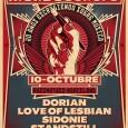 MONDOSONORO, LA REVISTA DE CABECERA DE LA MÚSICA ALTERNATIVA DEL ESTADO ESPAÑOL, CELEBRA SU 20 ANIVERSARIO ESTE OCTUBRE ·El 10 de octubre MondoSonoro reúne Love of Lesbian, Dorian, Sidonie y […]