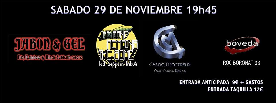 DEEPPURPLE CASINO MONTREUX TRIBUTE BAND