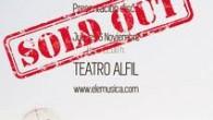 Boletín BMD Música Todas lasentradas vendidas para la presentación de ELE en el Teatro Alfil. Folk de habitación. Once canciones que se pasean por los claro-oscuros de la existencia a...