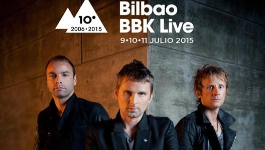 MUSE, PRIMER CABEZA DE CARTEL DEL BILBAO BBK LIVE 2015 -La actuación de la banda británica en Kobetamendi será la única que ofrezcan en un festival del Estado el año...