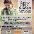Selección de fotos realizadas en el concierto deBirdycelebrado en la Sala Joy Eslava – Madrid el día 05/11/14 CLICKAR EN EL SIGUIENTE ENLACE https://www.flickr.com/photos/robertofierro/sets/72157649101304286/