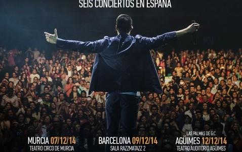 (Crónica) Carlos Rivera – Joy Eslava – Madrid – 14/12/14 El año pasado por estas fechas estuvimos en el concierto que ofreció Carlos Rivera en la Joy Eslava y este...