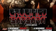 CRUCIFIED BARBARA + LIZZIES Madrid Sala Independance Club 03/12/14 Nuevo disco bajo el brazo y nueva visita a España del grupo de Heavy Rock femenino más conocido de Suecia. Me...