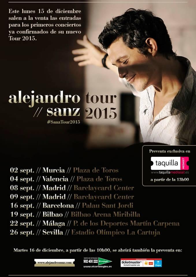 Alejandro Sanz 2014 Alejandro Sanz Tour 2014