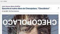 """LA PÁGINA WEB DE RADIO3 ESTRENA """"CLAVULÁNICO"""", EL NUEVO DISCO DE CHECOPOLACO (EL VOLCÁN MÚSICA 2015) Y GIRA GPS. El próximo martes 27 se edita """"Clavulánico"""" el nuevo disco de..."""