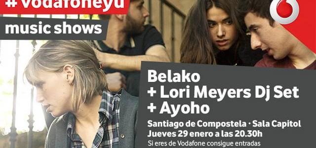 BELAKO, LA BANDA REVELACIÓN DEL MOMENTO, PROTAGONIZARÁ EL PRÓXIMO VODAFONE YU MUSIC SHOW  • La banda Belako, original de MungÍa (Bizkaia), en tan solo un par de años, ha...
