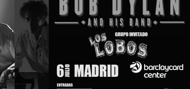 Bob Dylan, tras una década sin visitar Madrid, lo hará de la mano de Los Lobos como artistas invitados. Será en Barclaycard Center el 6 de Julio y las entradas...