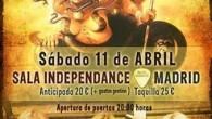 ROCK GODDESS Madrid Sala Independance 11/04/2015 La banda femenina de culto de la New Wave Of British Heavy Metal, Rock Goddess, hace un par de años anunció su vuelta a...