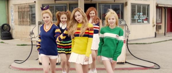 Conoce al grupo femenino de Kpop RED VELVET!