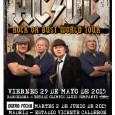 AC / DC Agotadas las entradas para el 31 de mayo en Madrid. NUEVAFECHA2 de junio, hoy a las 13h entradas a la venta 29 de MAYO de 2015 ESTADI […]